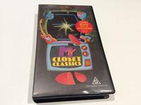 MTV CLOSET CLASSICS  VHS PAL VHS PAL VIDEO A RARE FIND