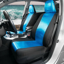Car Sideless Seat Cover Set Mermaid Front Pair with Headrest Covers Truck SUV