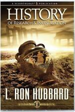 History of Research and Investigation by L. Ron Hubbard (2010, CD)