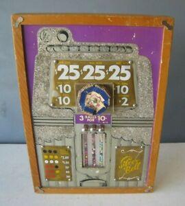 Antique Silver Bell Trade Simulator Gambling Device Unusual