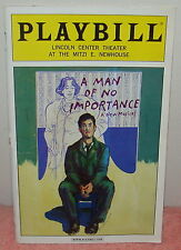 A MAN OF NO IMPORTANCE - LINCOLN CENTER THEATER - DEC 5, 2002