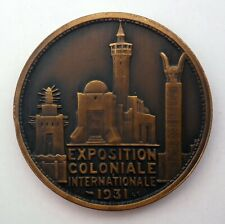 1931- Exposition Coloniale Internationale - 4 médailles