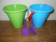 Amloid Two Sand Buckets with Shovels