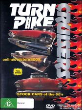 TURNPIKE CRUISERS - 50's Stock Cars Caddys Chevys Mercs DVD NEW SEALED Turn Pike