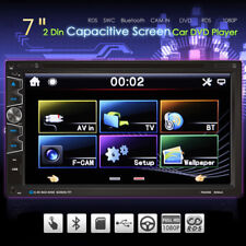 """Double 2 Din 7"""" Car DVD MP3 Player Touch Screen In Deck Stereo Radio+Camera"""