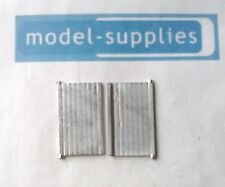 Matchbox A3 Garage reproduction white metal pair of doors