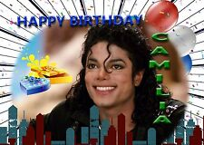 Personalised - MICHAEL JACKSON - Birthday Greeting Card Any Occasion