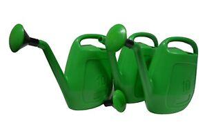 18X Gießkanne 10L Grün mit Aufsteckbrause / Brause 10 Liter Kanne Garten Beet