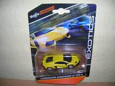 Maisto Design Exotics Lamborghini Aventador LP 700-4 gelb yellow, 1:64