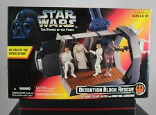RAR Kenner Star Wars The Power of the Force, Detention Block Rescue, Neu, OVP