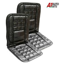Toyota Avensis Corolla Seat Covers Orthopaedic 2x Real Leather Front Car