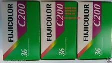 Película fotográfica analógica colores Fujifilm
