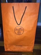 HERMÈS Medium Size Carrier Bag And Handles 43cm by 28cm by 10cm