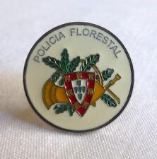 Portuguese FOREST GUARD POLICIA FLORESTAL pin badge