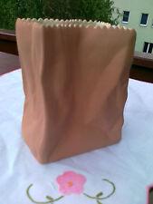1 Tütenvase 10  cm  Keramik  Braun   Rosenthal   Neuware  A   Originalverpackung