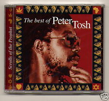THE BEST OF PETER TOSH, U.S. Columbia CD, 1999, SEALED