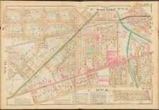 1888 E. ROBINSON MONROE COUNTY NY ROCHESTER CITY HOSPITAL COPY PLAT ATLAS MAP
