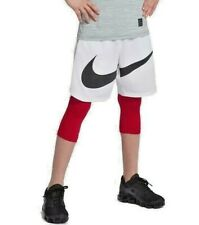 Nike boys 3/4 Training Tights Red 858228 size S M L XL