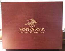 Winchester Limited Edition 2008 Box Cherry Finish Wood Storage Presentation Box