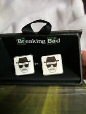 2 Pack NEW Breaking Bad Periodic Character Cufflinks gift boxed  Metal & Enamel