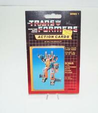 Thrust Sealed Pack Card #100 Transformers Trading Action Cards 1985 G1