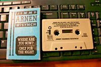 Jimmy Harnen W/ Synch Cassette Single Where are you now? Ballad 80's Rock