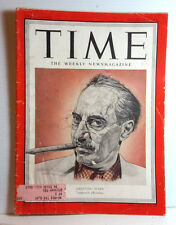 Dec 31, 1951 TIME Magazine- Groucho Marx on Cover-News/Photos/Ad