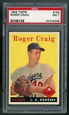 1958 Topps #194 Roger Craig PSA 7 NM #04743248 **20HA*