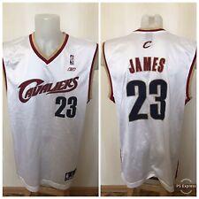 Cleveland Cavaliers #23 LeBron James Sz L Reebok basketball jersey shirt maillot