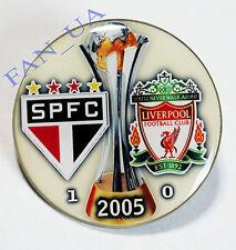 Badge Pin São Paulo Brazil - Liverpool England FIFA Club World Cup FINAL 2005