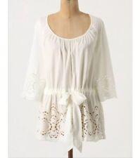 VGUC Anthropologie FLOREAT Nana's Doily white eyelet blouse top. Size 4