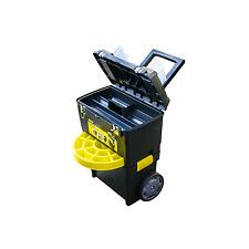 "Carrello cassetta valigetta valigia stanley porta utensili attrezzi 18"" con ruot"