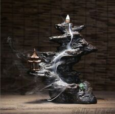 Mountains Flow-water Smoke Backflow Incense Burner Creative Home Office Decor