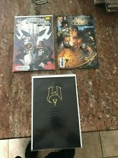 WITCHBLADE BLACK GOLD FOIL 54 VIRGIN PUNISHER 1 HUNTER KILLER 1 TOP COW