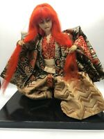 Japanese tradition antique Vintage Kabuki Renshishi doll figure Very rare japan