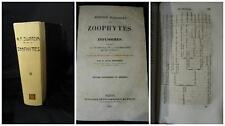 Dujardi Félix - Histoire Naturelle des Zoophytes - Parigi 1841