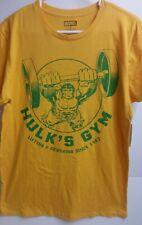 "Marvel ""The Incredible HULK T-Shirt"" HULK'S GYM Since 1962 New!"