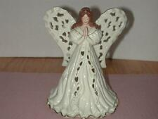 Lenox Angel of Adoration  Votive 2001 Excellent - No Box