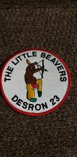 NEW! Destroyer Squadron  23  DESRON-23 w/Little Beaver USN NAVAL PATCH