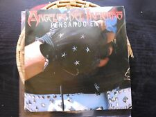 SINGLE PROMO ANGELES DEL INFIERNO - PENSANDO EN TI - WEA SPAIN 1986 VG+