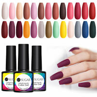 UR SUGAR 7.5ml Matt UV Gellack Colorful Soak Off UV Gel Nagel Kunst Gel Varnish