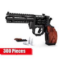 Technic Revolver Gewehr Waffe 42056 42083 Blöcke Bausteine MOC pistole 42110