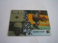 1997/98 UPPER DECK MCDONALDS THEOREN FLEURY CARD #MCD 2***CALGARY FLAMES***