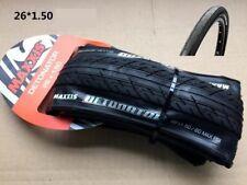 Maxxis Detonator 26 x 1.5 MTB Bike Foldable Tires - Black