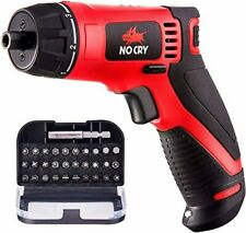 NoCry 10 N.m Cordless Electric Screwdriver - with 30 Screw Bits Set, Rechargeabl