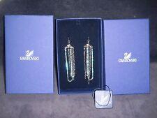 "Swarovski ""Drama"" Crystal Chandelier Earrings BNIB # 910878 $135"