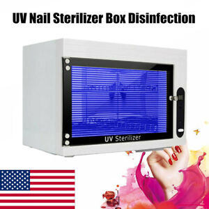 UV Sterilizer Disinfection Cabinet Nail Tools Makeup Brush Cleaning Disinfector