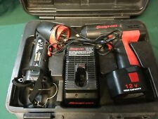 "Snap-on CT310 Cordless 3/8"" Drive 12-v Impact Wrench Kit 1 Battery"