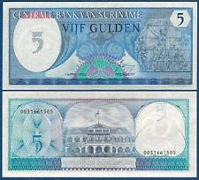 SURINAM / SURINAME 5 Gulden 1982 UNC P.125