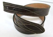 """Leather Belt 30"""" Split Cowhide Top Grain 1.5"""" wide Chamber Phoenix Western Store"""